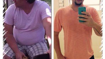 antes e depois da dieta dukan