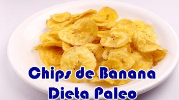 receitas paleo banana chips