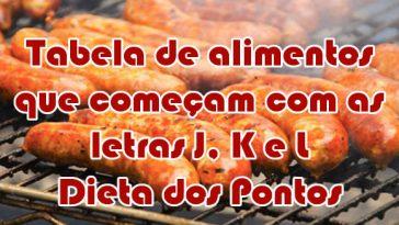 Dieta Emagrece tabela-alimentos-letra-J-K-L-dieta-dos-pontos-364x205  Dieta