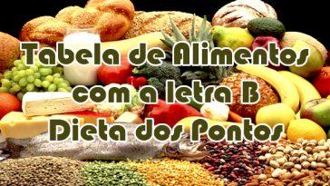 Dieta Emagrece tabela-de-alimentos-letra-b-dieta-dos-pontos-364x205  Dieta