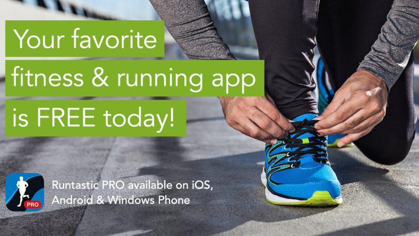Runtastic PRO grátis nas app stores (só hoje)
